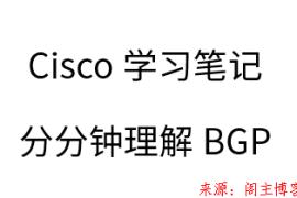 Cisco学习笔记,分分钟理解BGP路由!
