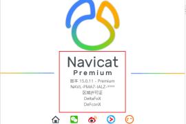 Navicat Premium 15绿化教程