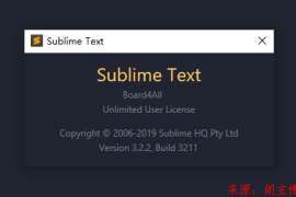安利一款个人在用的Sublime text 3的主题配色方案