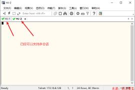 SecureCRT8.5合并会话框(默认似乎是单会话)